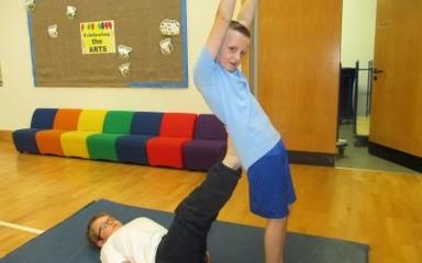Gymnastics in Class 6