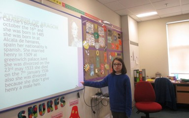 Class 6 Henry VIII presentations