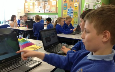 Year 5 and 6 love to learn!