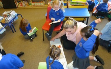 Reception Library Visits