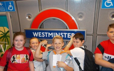 Year 6 have an amazing London experience!