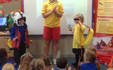 The RNLI visit class 1, 2 and 3.