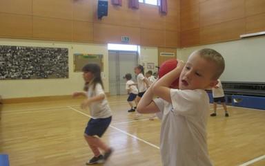 Dodgeball fun!