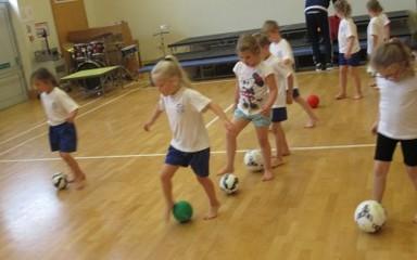 SAFC football fun!