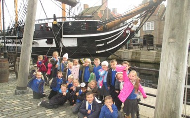 A great trip to Hartlepool Marina!