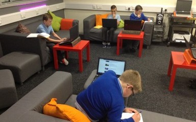Newsround researchers storm the Cyber C@ve