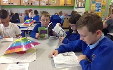 Guided reading in Class 6