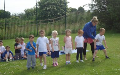 Reception Sports Day 2016
