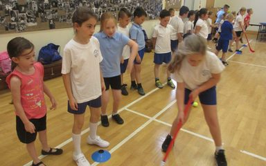 PE fun with CNS Sports
