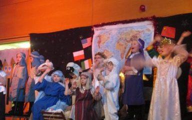 KS1 Christmas performance