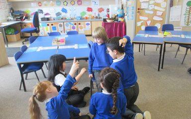 Drama in Class 3!