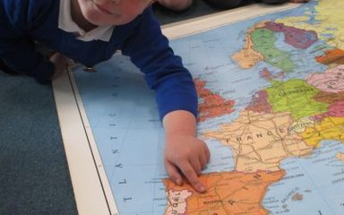 Discovering the continents of the world!