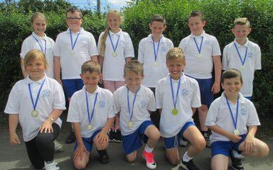 Sunderland Schools Year 5 Kwik Cricket Champions!
