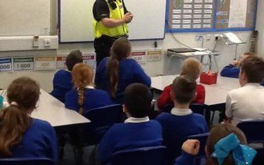 Community Police Visit