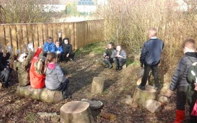 Class 3MB put on trial (Anglo-Saxon style).