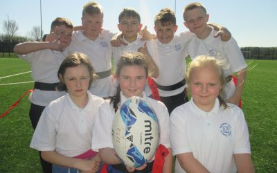 Tag Rugby Teamwork!